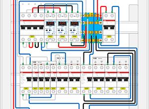 Проектирование монтажной схемы электрощита