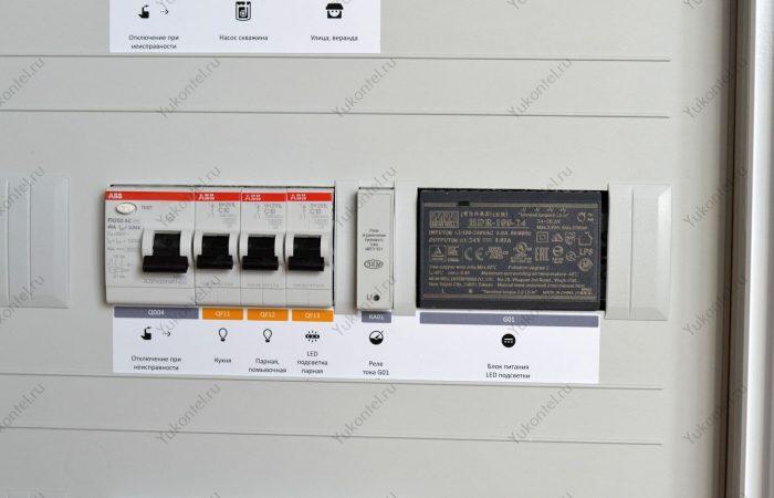 Электрощит для гостевого домика Югорск