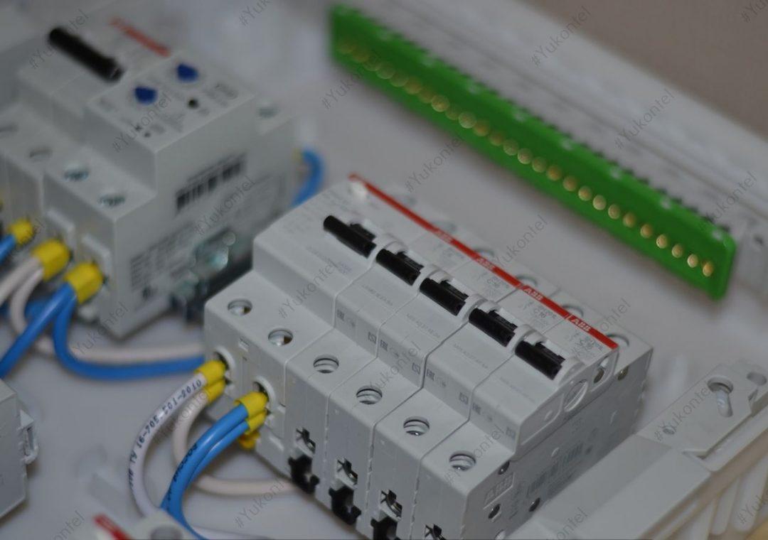 Сборка электрощит